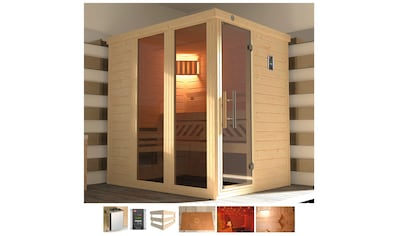 weka Sauna »Kemi Panorama«, 7,5 kW Ofen mit ext. Steuerung kaufen