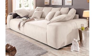 Home affaire Big-Sofa, Breite 302 cm, Lounge Sofa mit vielen losen Kissen kaufen