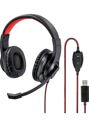 "Hama Over-Ear-Kopfhörer »PC-Office-Headset ""HS-USB400""« kaufen"