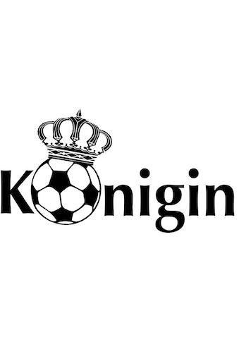 Wall-Art Wandtattoo »Fußball Fußballkönigin« kaufen