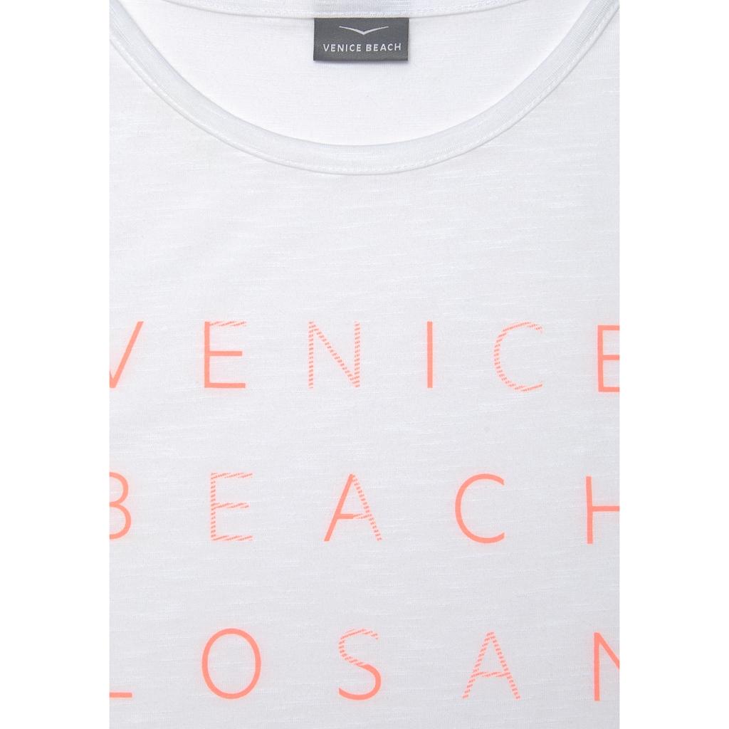Venice Beach Tanktop, mit Logoprint