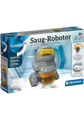 Clementoni® Experimentierkasten »Galileo Saug-Roboter«, Made in Europe kaufen