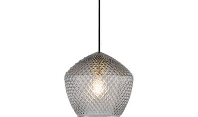 Nordlux Pendelleuchte »ORBIFORM«, E27, Hängeleuchte, Struktur Glas Schirm, Messing... kaufen