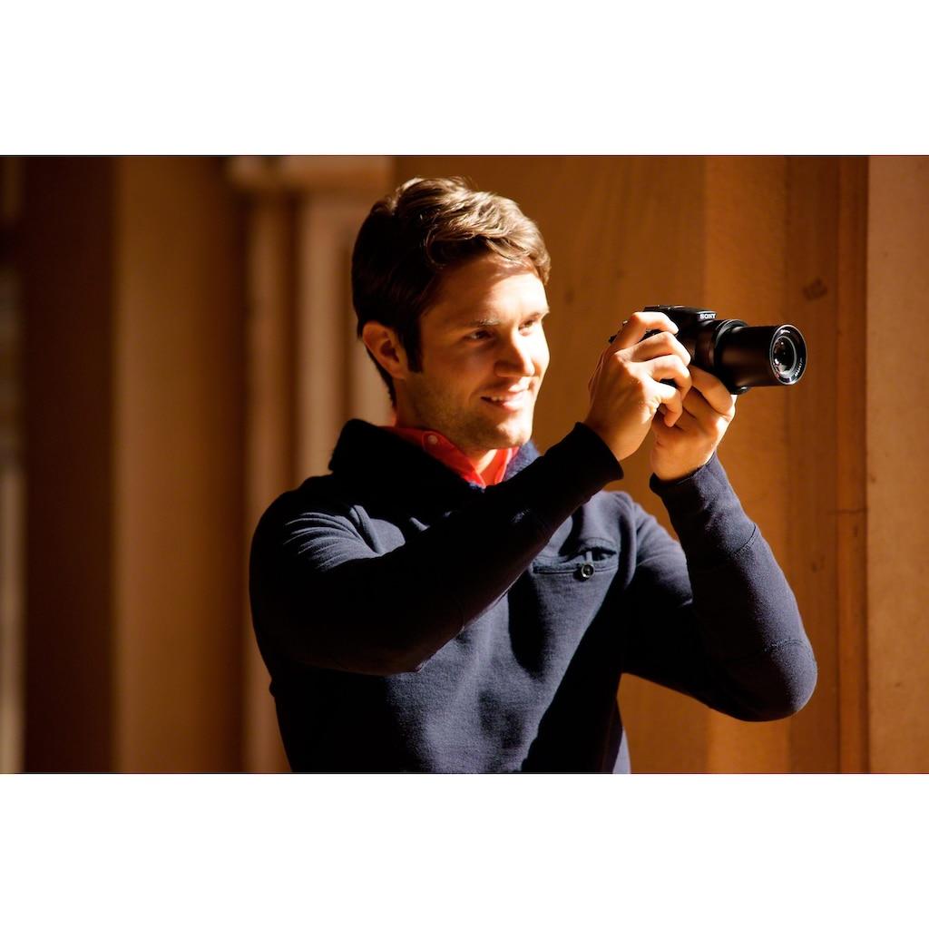 Sony Bridge-Kamera »Cyber-Shot DSC-HX400V«, 24mm Carl Zeiss Vario Sonnar T, 20,4 MP, 50x opt. Zoom, WLAN (Wi-Fi), 50 fach optischer Zoom