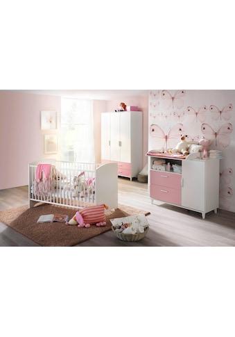rauch BLUE Babyzimmer-Komplettset »Nizza«, (Set, 3 St.), Bett + Wickelkommode + 3 trg.... kaufen