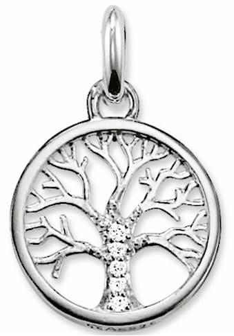 THOMAS SABO Kettenanhänger »Lebensbaum, KC0002-051-14«, mit Zirkonia kaufen