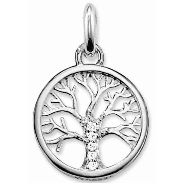 THOMAS SABO Kettenanhänger »Lebensbaum, KC0002-051-14«