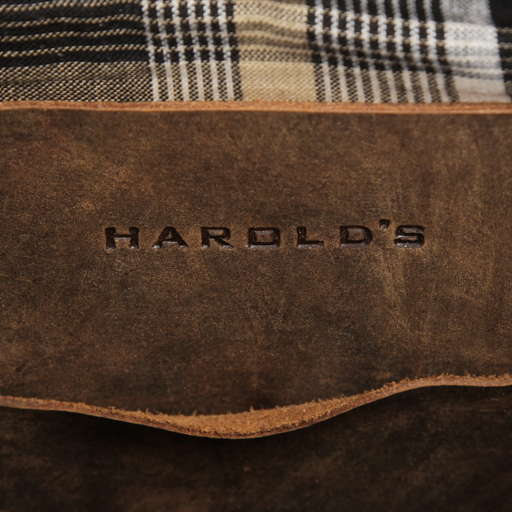Harold's Umhängetasche »ANTIC«, vegetabil gegerbt