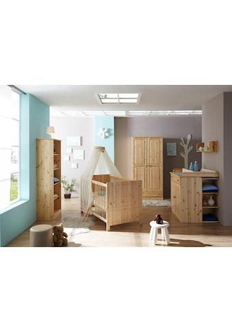 Ticaa Babyzimmer-Komplettset »Moritz«, (Set, 5 St.), Bett + Wickelkommode + Schrank +... kaufen