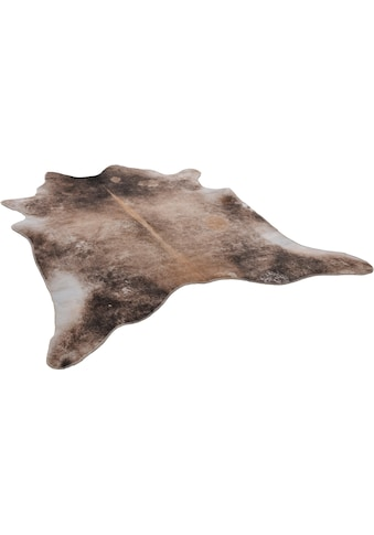 Fellteppich, »Emilia«, Gino Falcone, fellförmig, Höhe 3 mm, gedruckt kaufen