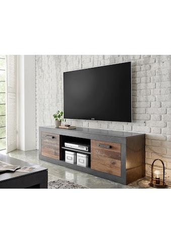 Home affaire Lowboard »BROOKLYN«, in dekorativer Rahmenoptik, Fernsehtisch im... kaufen