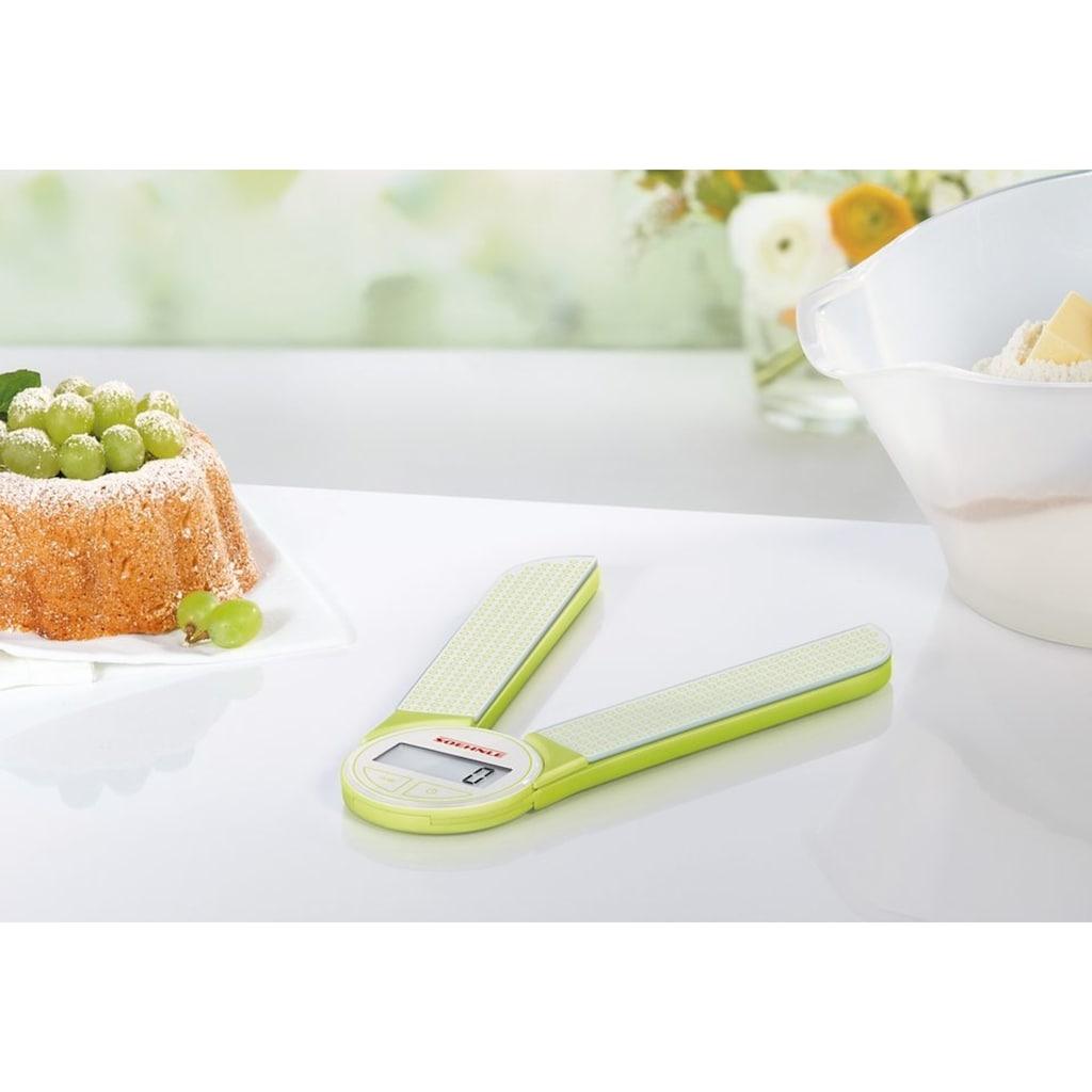 Soehnle Küchenwaage »Genio - green«, (1 tlg.)