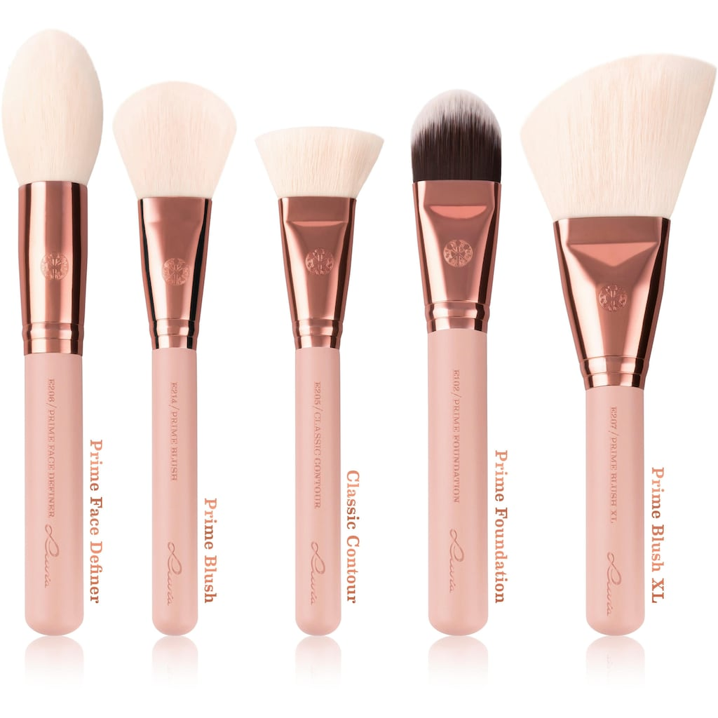 Luvia Cosmetics Kosmetikpinsel-Set »Essential Brushes - Expansion Set - Rose Golden Vintage«, (10 tlg.)