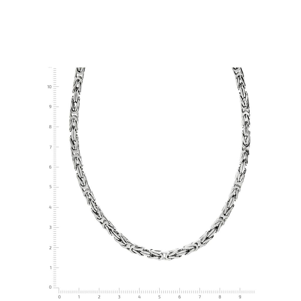 Firetti Königskette »Königskettengliederung 4-kant, 4,0 mm breit«, Made in Germany