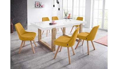 INOSIGN Stuhl »Dilla«, im 1er und 2er Set erhältlich, aus pflegeleichtem Webstoff... kaufen