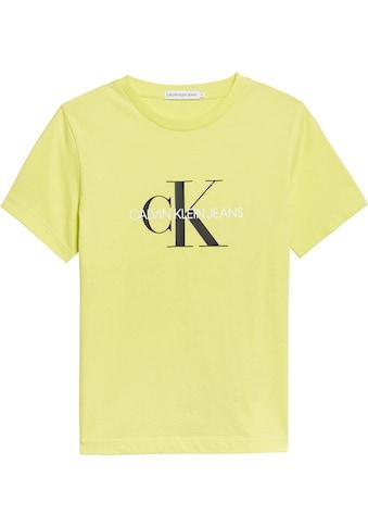 Calvin Klein Jeans T-Shirt, in schmaler Basicform kaufen