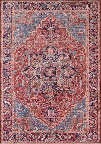 NOURISTAN Teppich »Amata«, rechteckig, 5 mm Höhe, Vintage Design, Orient-Optik,... kaufen