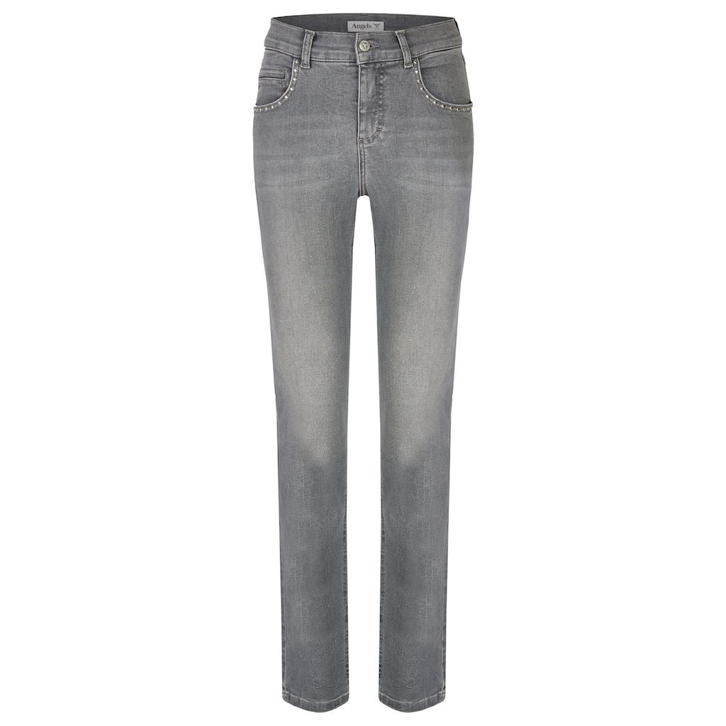 ANGELS Jeans,Cici Rock' mit Nietendetails an den Taschen