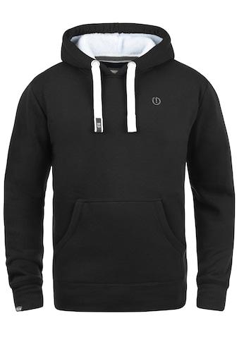 Solid Hoodie »BennHood Pile«, Kapuzensweatshirt mit gefütterter Kapuze kaufen