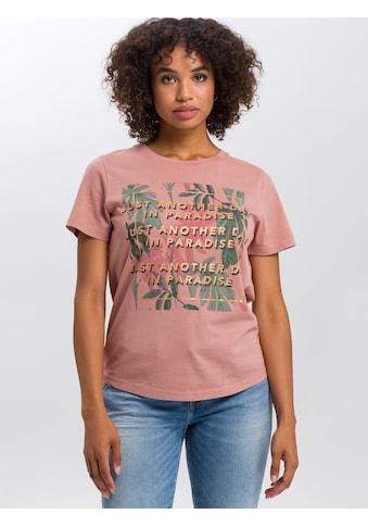 Cross Jeans® T-Shirt »55723«, Legeres Shirt kaufen