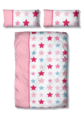 Lüttenhütt Kinderbettwäsche »Tilly«, mit breitem Streifen und Sternen kaufen