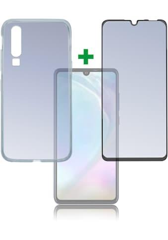 "4smarts Smartphone-Hülle »360° Premium Protection Set \""CF\"" Huawei P30 Lite«, Huawei... kaufen"