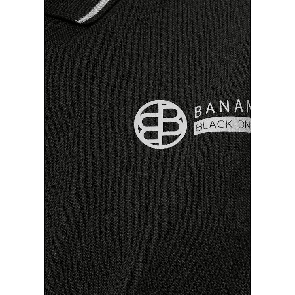 Bruno Banani Poloshirt, mit Reißverschluss
