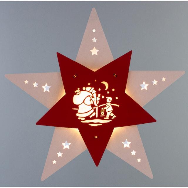 Weigla,LED Fensterbild»Knecht Ruprecht«,