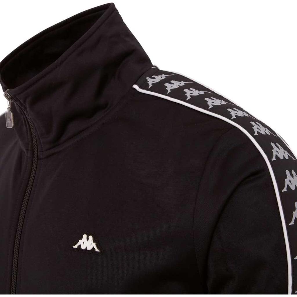 Kappa Trainingsjacke »AUTHENTIC HEKTOR«, mit Logowebband an den Ärmeln