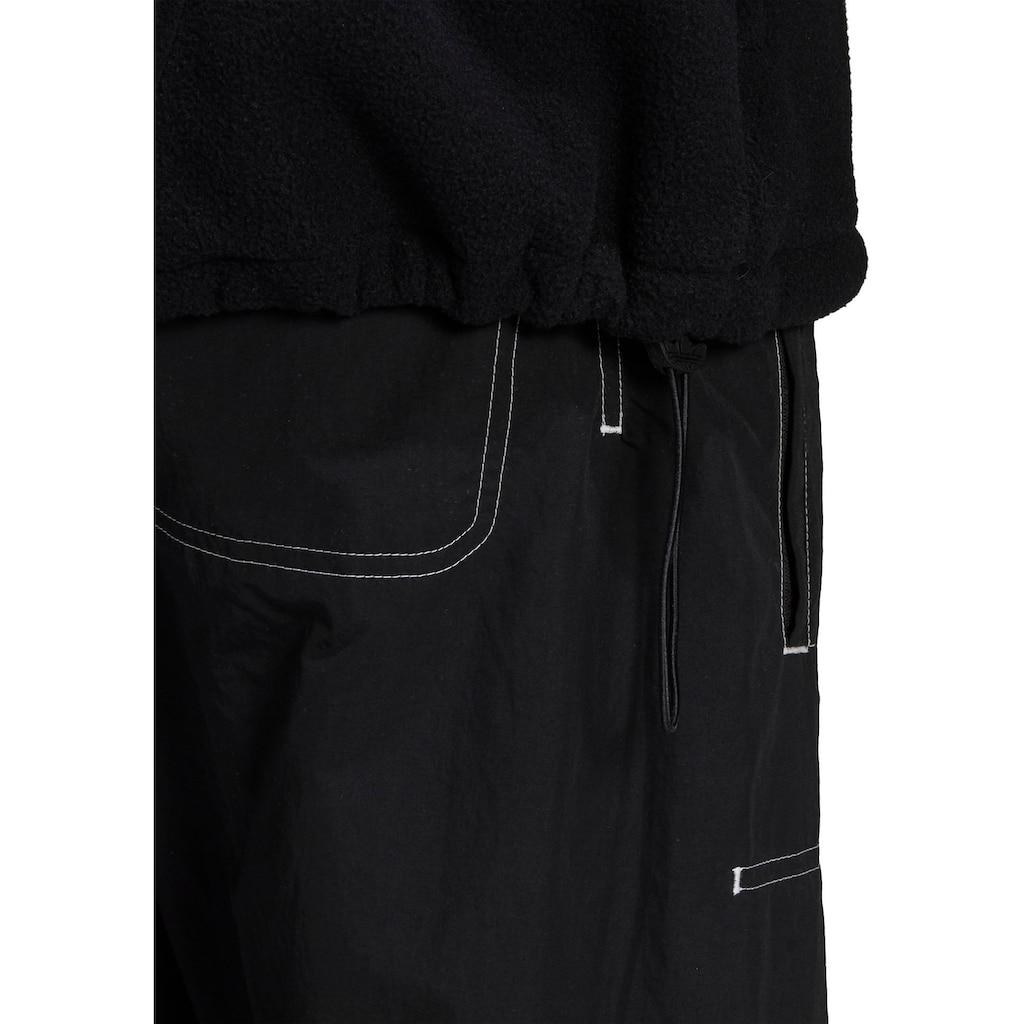 adidas Originals Fleecepullover »BIG TREFOIL MIX HFZP«