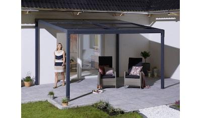 KONIFERA Anbaupavillon »Anguilla«, BxT: 300x400 cm, Aluminium, Polycarbonat-Dachplatten kaufen