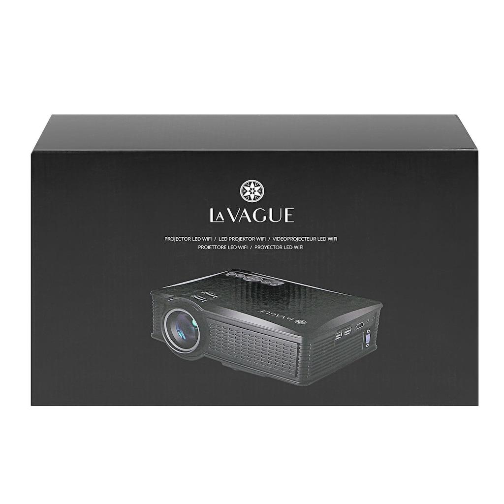LA VAGUE LED-Beamer »LV-HD171 WiFi«, (1000:1), unterstützt 720p/1080p, ideal zum Streamen von Netflix