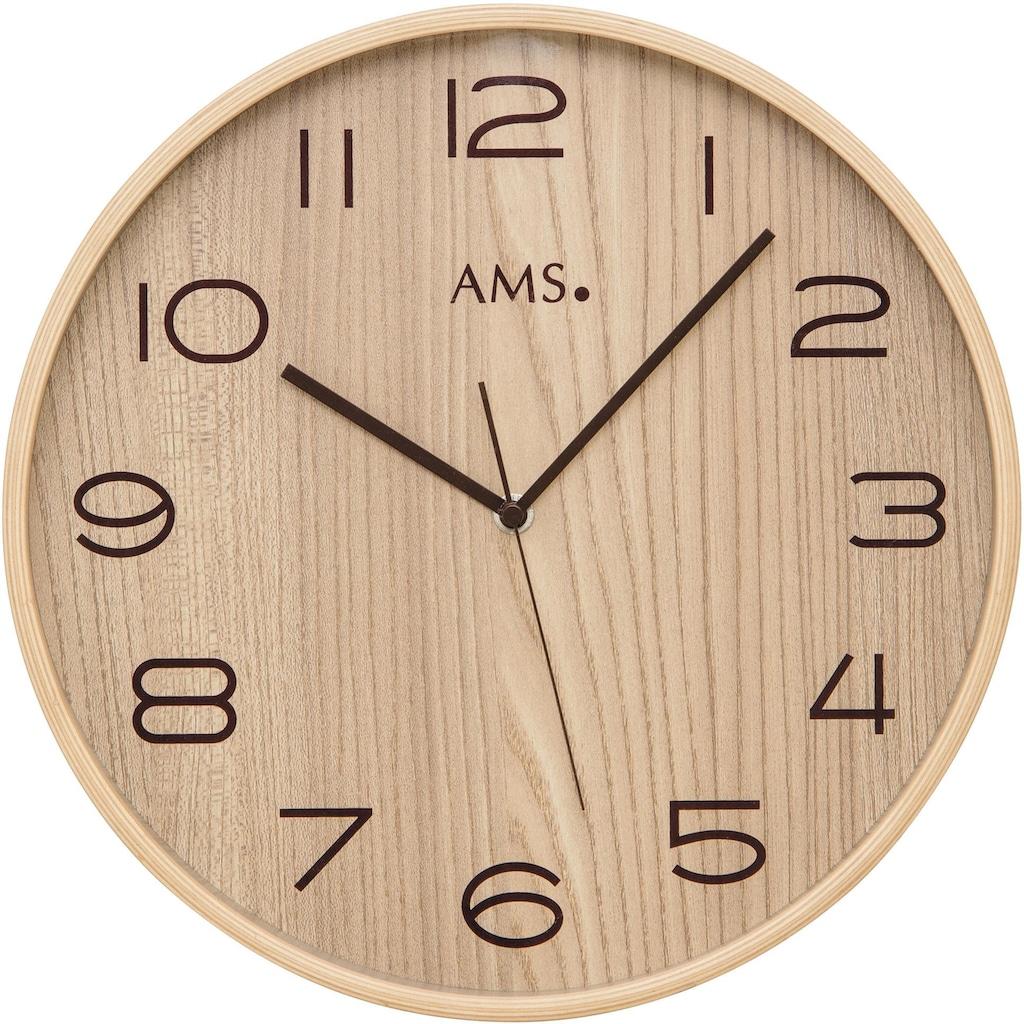 AMS Funkwanduhr »F5514«