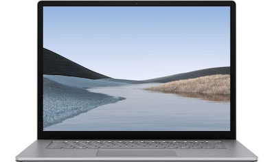 "Microsoft Notebook »Surface Laptop 3 - AMD - 15"" 256/8GB, Platin«, ( 256 GB SSD) kaufen"