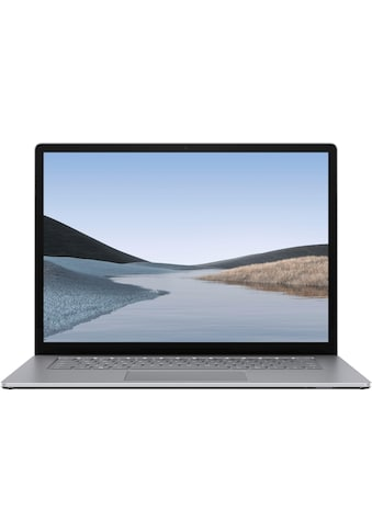 "Microsoft Surface Laptop 3  -  AMD  -  15"" 256/8GB, Platin Notebook (38 cm / 15 Zoll, AMD,Ryzen 5, 256 GB SSD) kaufen"