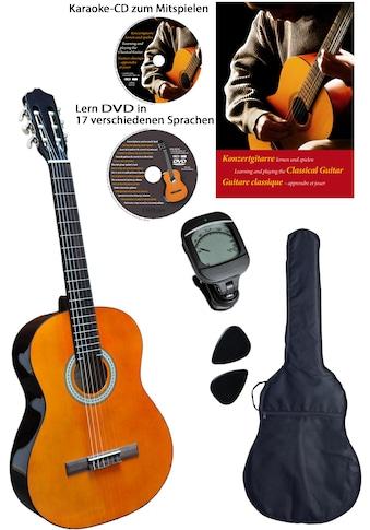 Clifton Konzertgitarre »Clifton Konzertgitarren ¼«, 1/4, Komplettset kaufen