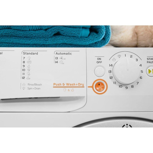 Waschtrockner, Indesit, »XWDA 751480X WSSS EU«