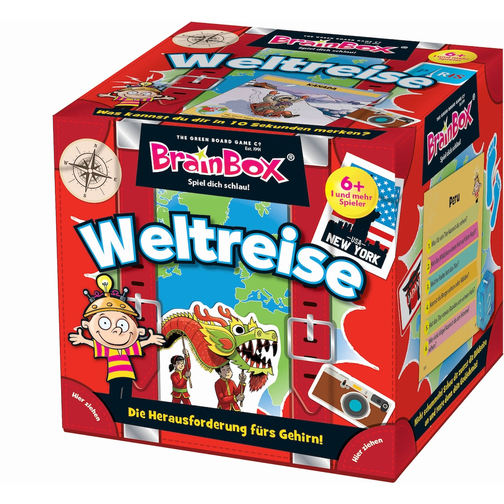 BrainBox Spiel »Weltreise«