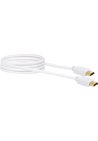 Schwaiger High Speed HDMI Kabel mit Ethernet, 4K, Full HD, 3D Ultra HD »vergoldete... kaufen