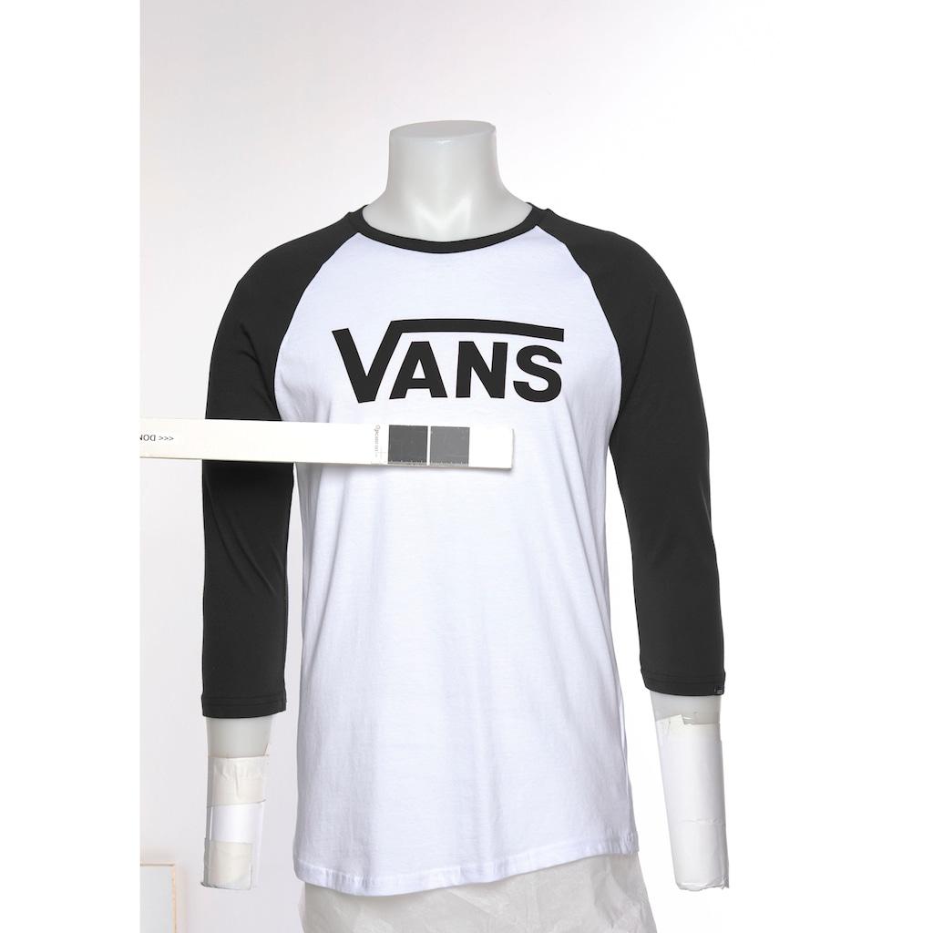 Vans Langarmshirt »VANS CLASSIC RAGLAN«