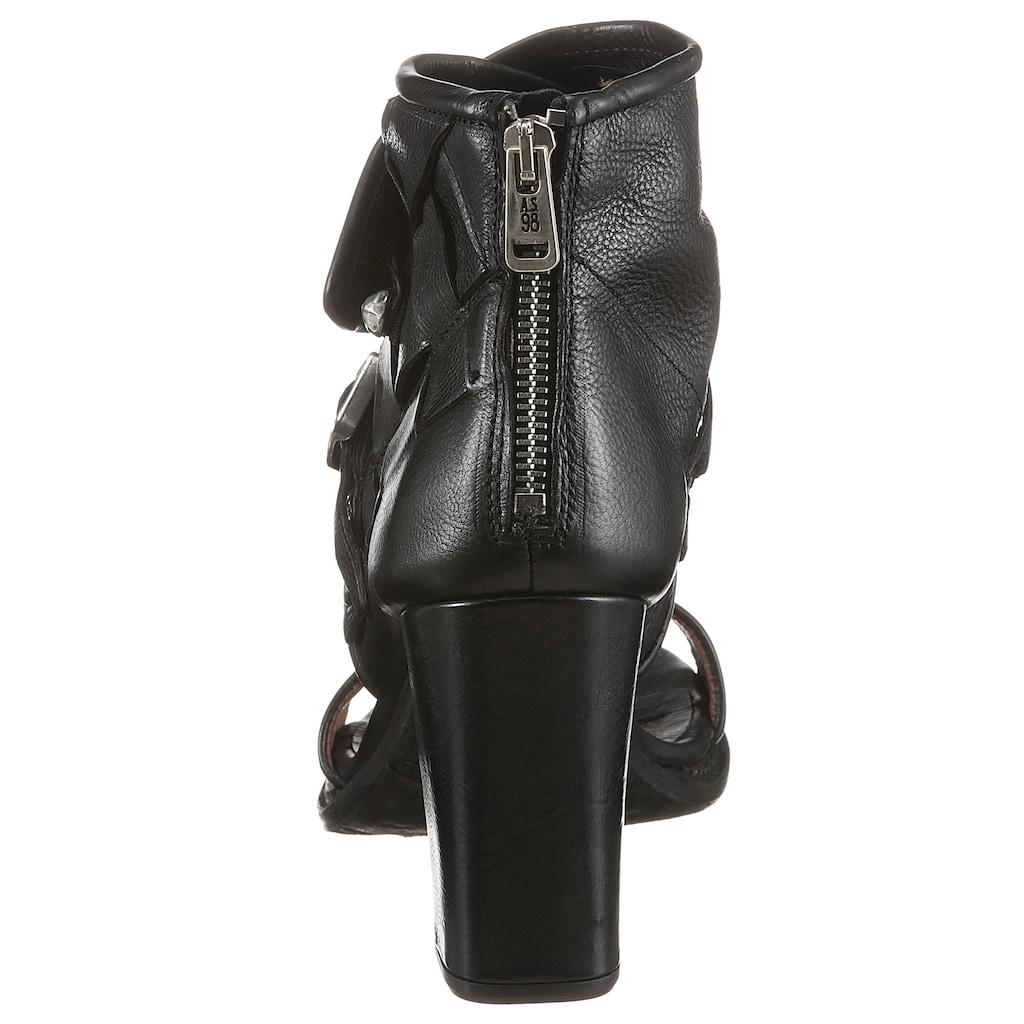 A.S.98 Sandalette »BASILE«, mit modischem Schaft