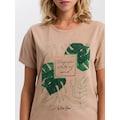 Cross Jeans® T-Shirt »55747«, Legeres Shirt mit Front-Print
