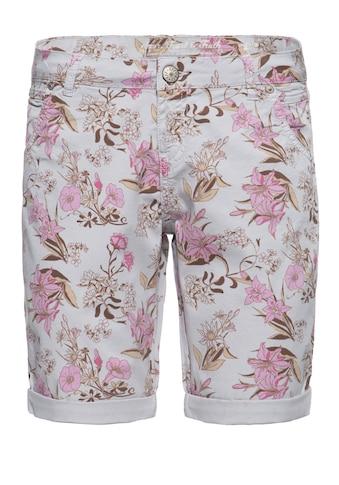 ATT Jeans Jeansbermudas »Lola«, mit floralem All-Over Print kaufen