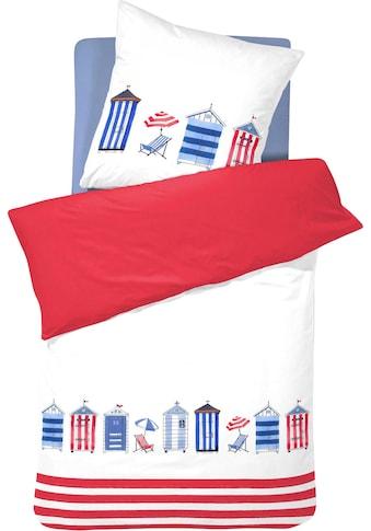 Cinderella Wendebettwäsche »Huts«, mit maritimem Print kaufen