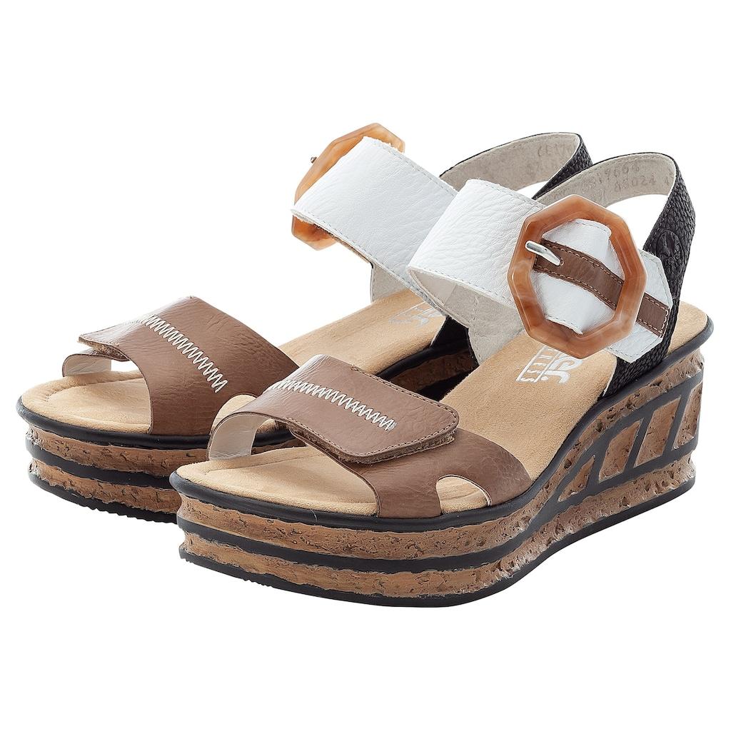 Rieker Sandalette, im modischen Look