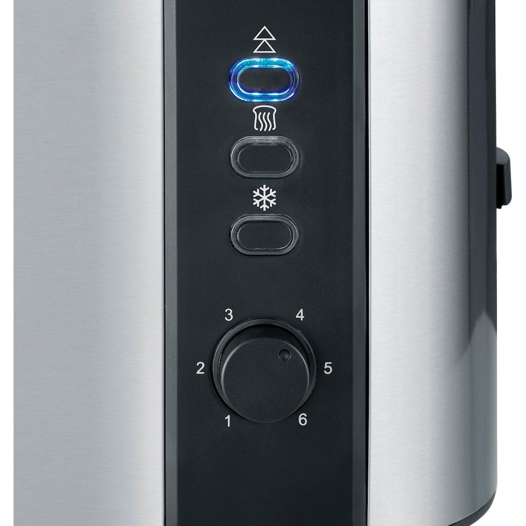 Severin Toaster »AT 2589«, 2 kurze Schlitze, für 2 Scheiben, 800 W