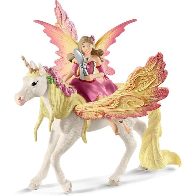 """Schleich® Spielfigur """"bayala, Feya mit Pegasus-Einhorn (70568)"""""""