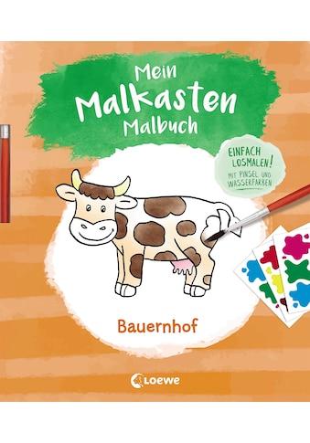 Buch Mein Malkasten - Malbuch  -  Bauernhof / Angelika Penner kaufen