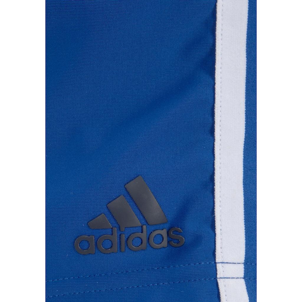 adidas Performance Boxer-Badehose, mit sportlichen Seitenstreifen