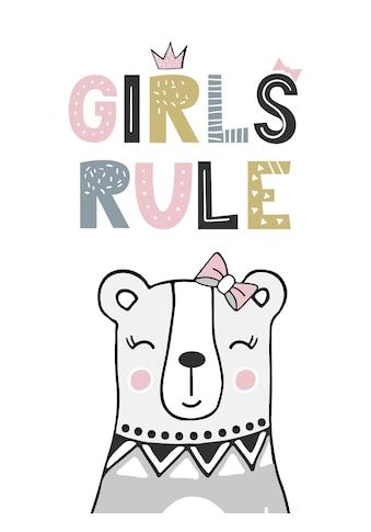 Lüttenhütt Leinwandbild »Girls rule« kaufen